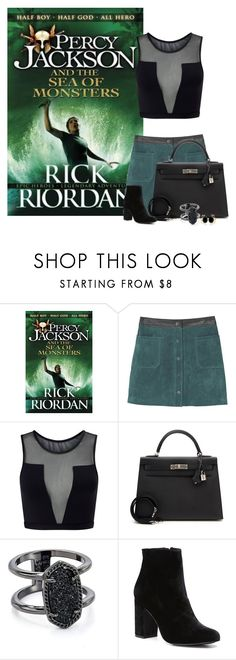 Percy Jackson and the Sea of Monsters(book 2) - Rick Riordan by ninette-f on Polyvore