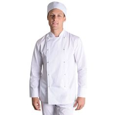Show details for Stanley Chef Jacket - Long Sleeve Chef Jackets, Long Sleeve, Sleeves, How To Wear, Collection, Fashion, Moda, Long Dress Patterns, Fashion Styles