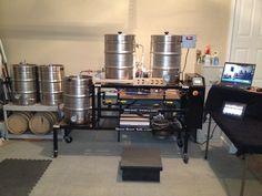 My Home Brew setup...Cheers!
