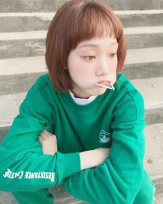 she looks cute and sweggy at the same time oof double kill :) Korean Actresses, Asian Actors, Korean Actors, Actors & Actresses, Weightlifting Kim Bok Joo, Weightlifting Fairy, Lee Sung Kyung Wallpaper, Weighlifting Fairy Kim Bok Joo, Kim Book