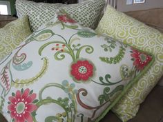 tutorial - make your own decorative pillows