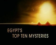 10 Tajemnic Egiptu seriale online - serialnet24.pl