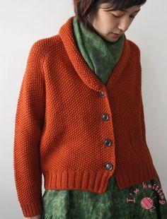 Knitting Stitches, Knitting Patterns Free, Knit Patterns, Free Knitting, Top Fashion, Knit Fashion, Angora, Jacket Pattern, Knit Jacket