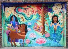 San Francisco Mural Arts | Precita Eyes | Rio Rivera