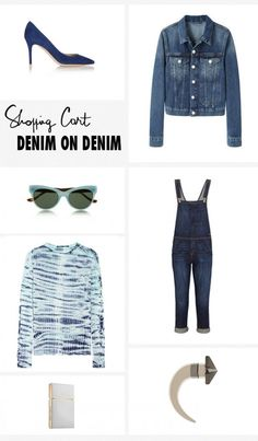 Denim on Denim: Proenza Schouler, Givenchy, Current/Elliott, Acne Studios, Gianvito Rossi, The Row, Elizabeth and James
