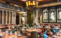 Still London's most glamorous Moroccan restaurant, Momo attracts a fair smattering of beautiful people alongside couples on special dates, hen parties and