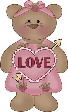 Girl Love Bear