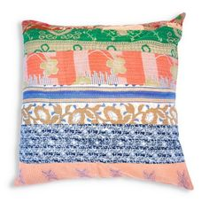 Find it at the Foundary - Oversized Dyumna Kantha Embroidered Pillow