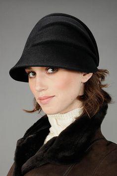 Nicki Marquardt. Wool pleated hat on shopstyle.com
