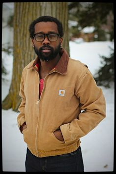 Vintage 1990s era Carhartt Detroit jacket  by TheThreadLocker, $60.00