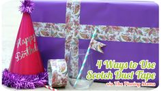 4 DIY Projects with Scotch Duct Tape | The Pinning Mama