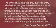 """This is the party of """"family values."""""""
