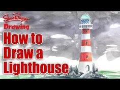 ▶ How to draw a lighthouse - YouTube