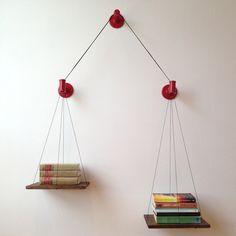 Balance Bookshelf Red