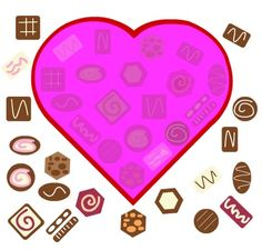 Valentine's Candy Puzzle - Repinned by @PediaStaff – Please Visit ht.ly/63sNtfor all our pediatric therapy pins