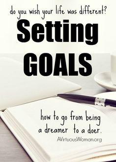Setting Goals goal setting #goal