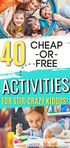Looking for activities at home for kids? Try these easy, fun ideas to fill the long days. Children's Day Activities, Indoor Activities For Kids, Children Activities, Raising Godly Children, Raising Kids, Chicken Scratch, Boredom Busters, Christian Parenting, Before Us