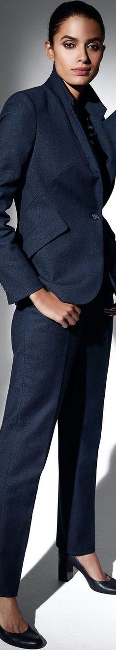 Madeleine Navy Melange Blazer