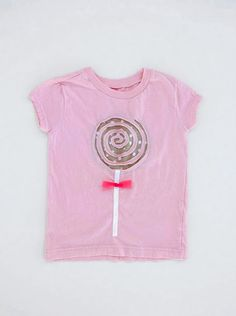 Lollipop shirt tutorial - I've made one for each of my girls, including the one in the oven (which is on a onesie).  So cute, easy and fast!  My girls love them.  I added a ruffle to the bottom of one to make it longer.