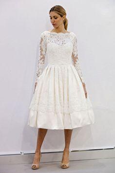 20 Gorgeous Short Wedding Dresses - Short Designer Wedding Gowns