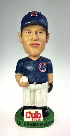 8dbb4edfdfc Chicago Cub Foods Kyle Farnsworth Bobble Head MLB Game Day Promo 2002 SGA   ChicagoCubs Mlb