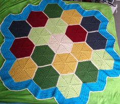 Settlers of Catan Blanket | yarn isomerase