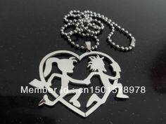 juggalo jewelry | ... steel princess hatchetman charm pendant free chain ICP Juggalo jewelry