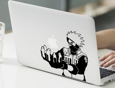 Naruto Shippuden Kakashi Hatake Macbook Decal Stickers