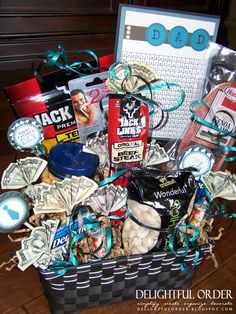 Fathers Day Gift Basket Free Printables On This Site Man