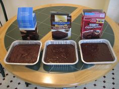 Which is the Best Boxed Brownie Mix? Brownies From Scratch, Weight Watchers Desserts, Skinnytaste, Sweets Recipes, Yummy Cookies, Ice Cream, Good Things, Chocolate, Healthy