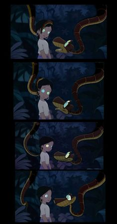 Who plays the snake in jungle book