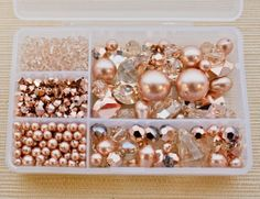 Swarovski Elements Crystal -Light Silk Crystal color, the new Crystal Rose Gold effect and the new Rose Gold Crystal pearl.