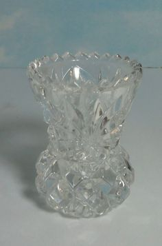 Lead Crystal Toothpick Holder Made In W Germany By Cosasraras On Etsy