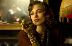 Keira Knightley appears as Anna Karenina, wearing an embroidered coat that sweeps the floor, a hat trimmed in fox fur — and million worth of Chanel gems, dangling from her ears. Dylan Thomas, Thomas Brodie, Anna Karenina, Love Actually, Charlie Chaplin, Beckham, Movies To Watch List, The Edge Of Love, Keira Christina Knightley