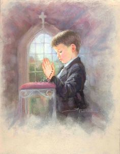 Kids on their First Communion: Cute Images. Première Communion, First Holy Communion, Mom In Heaven Quotes, Image Jesus, Little Prayer, Religious Images, Jesus Pictures, Prayer Cards, We Are The World
