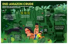 """This development shows the intentions of Big Oil know no bounds ! Already the Amazon has been irretrievably damaged by oil drilling as Chevron walked away from its mess. This  priceless asset to the World simply is too important for Big Oil to """"get its grubby hands on"""" !"""