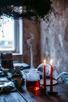 our food stories // christmas gathering, tea