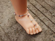 US $4.50     Buy Jewelry At Wholesale Prices!     FREE Shipping Worldwide     Buy one here---> http://jewelry-steals.com/products/1-pair-high-quality-babys-barefoot-sandals-kids-anklets-chain-child-child-foot-jewelry-high-elastic-and-adjustable-in-the-back/    #earrings