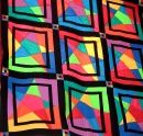 Quilt as Curtain