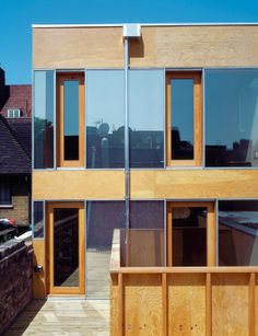 coate street - Sergison Bates Space Architecture, Amazing Architecture, Build My Own House, Wood Facade, Space Place, Cladding, Multi Story Building, House Design, Interior