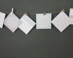 Flower of life wall hanging cards, Sacred geometry wall art cards Mandala decoration  cards, paper lover gift yoga studio decor diy