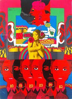 By Tadanori Yokoo Japanese Pop Art, Japanese Poster, Vintage Japanese, Cover Art, Keiichi Tanaami, Tadanori Yokoo, Illustration Design Graphique, Create Collage, Kunst Poster