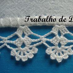Photo: Work nº 25 - Dish cloth with crochet hook.
