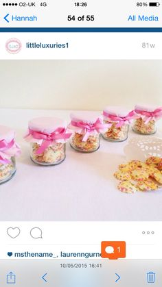 Sweets Candy Buffet, Cheesecake, Jar, Sweets, Desserts, Food, Tailgate Desserts, Deserts, Good Stocking Stuffers
