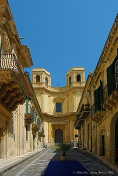 Ruelle de Noto - Sicile
