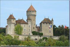 le château de Montrottier à Lovagny