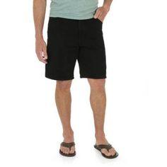 Wrangler Men's Comfort Series 5pkt Short, Size: 34, Black
