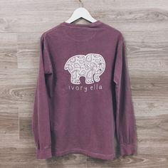 Ivory Ella makes lovely shirts and and other items that support Save the Elephants