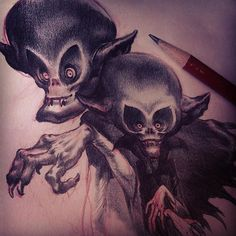 regram @grograou #Halloween Vampeers Broz !