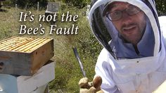 Each beekeeping inspection brings new discoveries. There is always something new to see and something new to learn. Sometimes the bees don't hang around long...